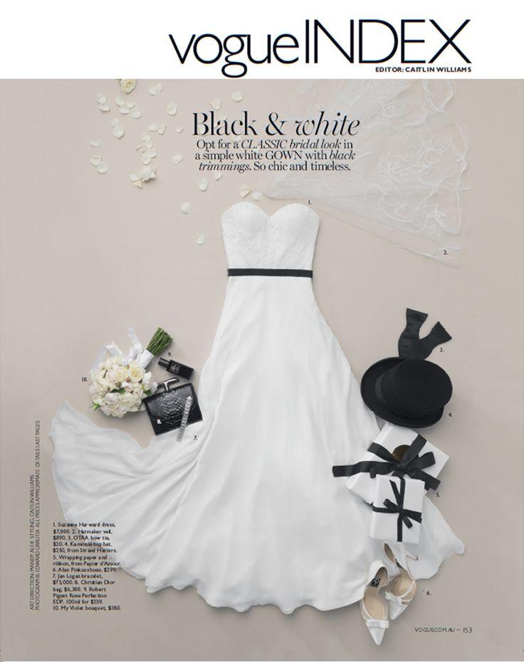 Vogue Bride Mary - White Silk http://www.alanpinkus.com.au/