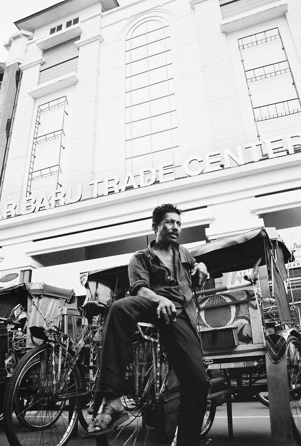 Becak    Pasar Baru I Bandung I Indonesia