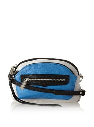 63% OFF Rebecca Minkoff Women's Jellybean Cross-Body Bag, Cerulean Combo