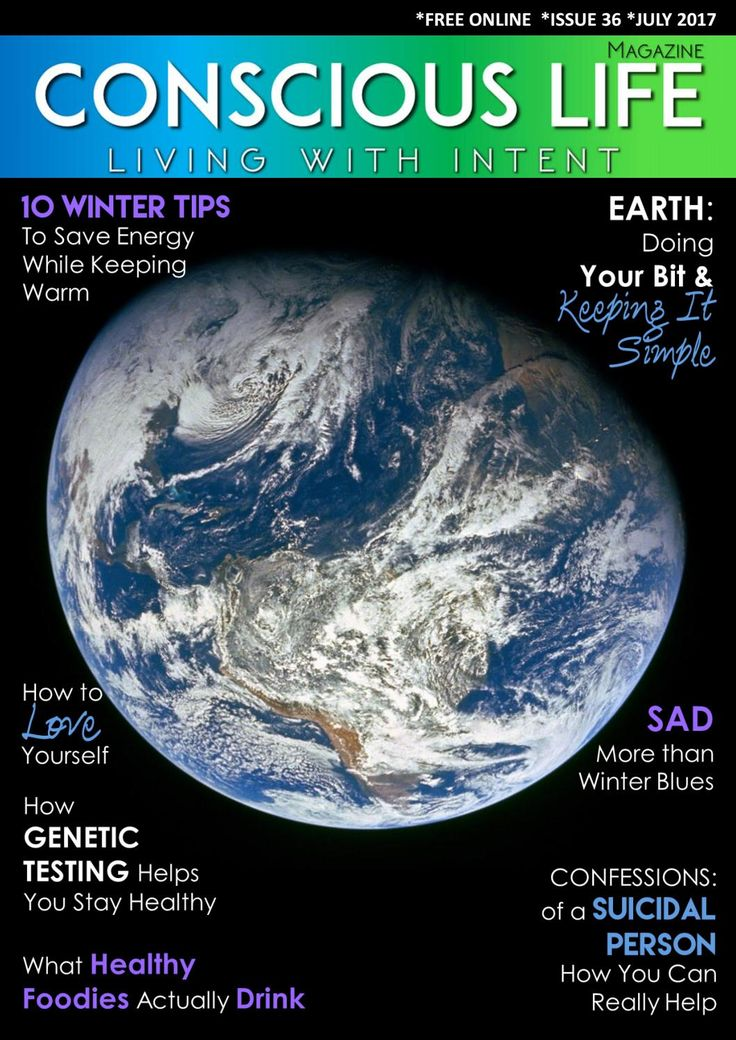 Conscious life mag 36th ed june july 2017