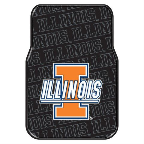 Use this Exclusive coupon code: PINFIVE to receive an additional 5% off the University of Illinois Car Floor Mats at SportsFansPlus.com