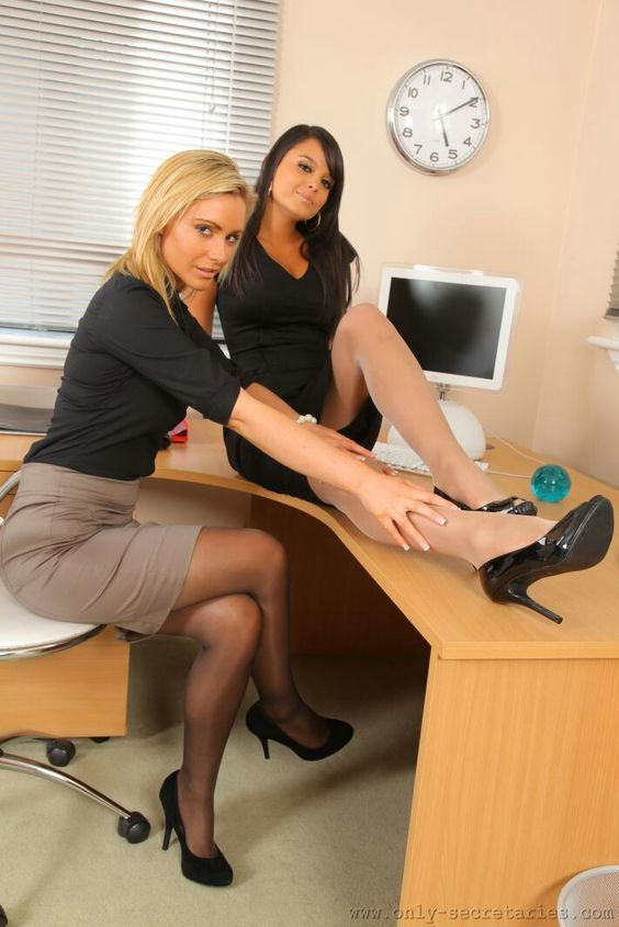 Hot Office Girls  Nylons  Stockings  Pinterest  Sexy -1481