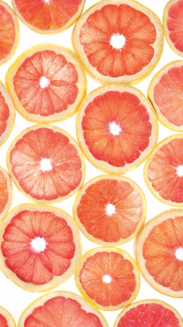 Citrus Grapefruits Tropic Vibes Best Iphone Wallpapers