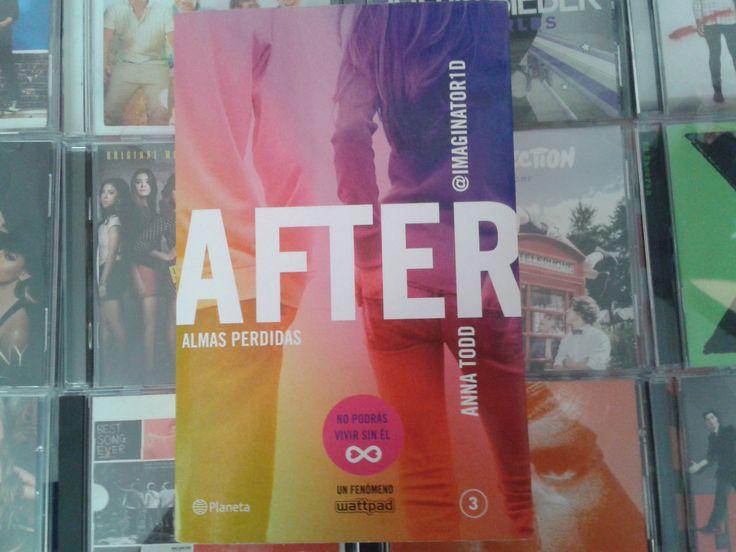 """After: Almas Perdidas"""" escrito por Anna Todd:"""