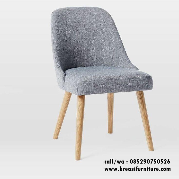 Kursi Cafe Murah Scandinav Jok merupakan kursi cafe dengan desain scandinavian furniture yang saat ini sedang tenar berbahan full kayu jati solid.