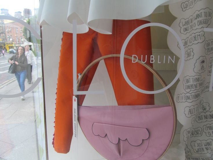 Leather bags by designer Ailbhe Griffin