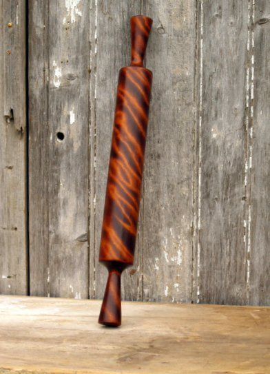 Cattails Woodwork makes the most beautiful rolling pins I've ever seen.