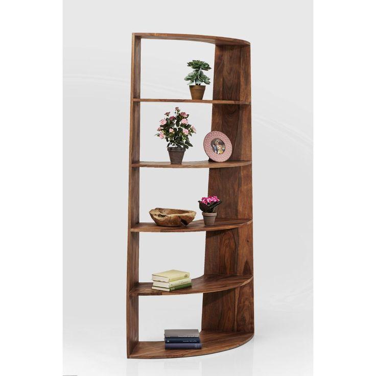 Βιβλιοθήκη Modular Wood  Βιβλιοθήκη από μασίφ ξύλο sheesam  €1.065