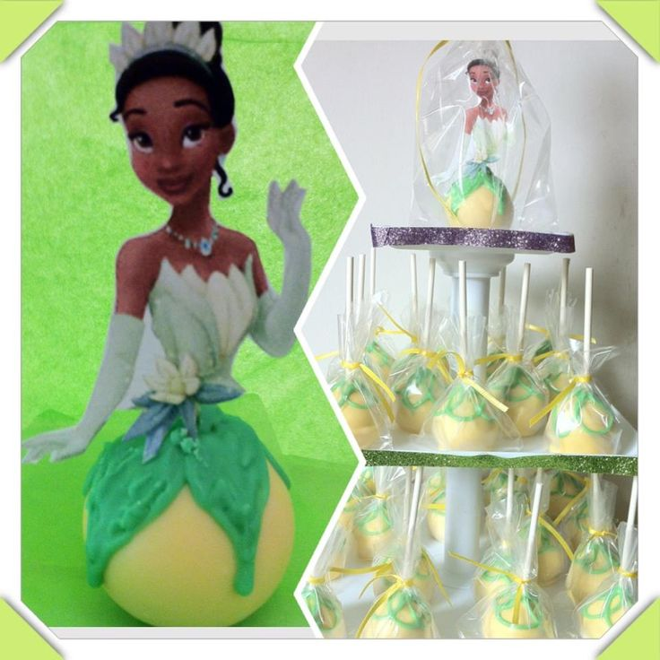 Sewalicious Designs: Princess Tiana Cake Pops