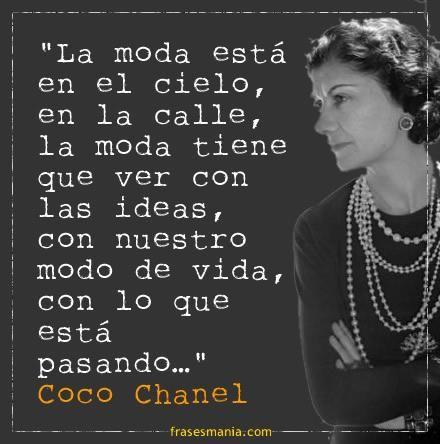 Reflexiones de Coco Chanel