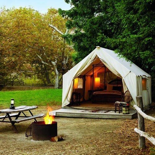 """glamping <3 <3 <3 our pins?  """"LIKE"""" us at…"""