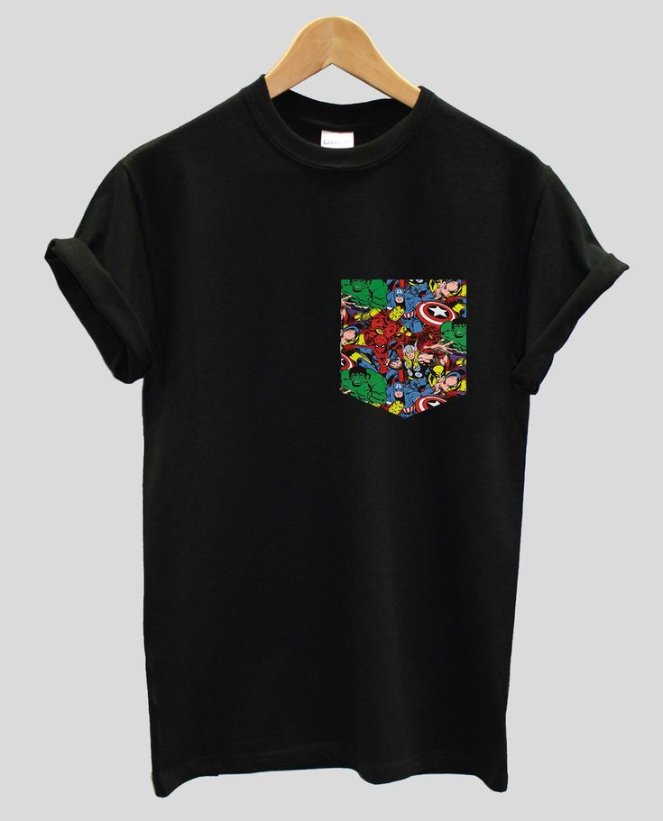 Real Stitched Marvel Print Pocket T-shirt Hipster Indie Swag Dope Hype Mens Womens Cute, Captain America, Thor, Iron Man, Hulk, Spiderman by IIMVClOTHING on Etsy https://www.etsy.com/listing/254026417/real-stitched-marvel-print-pocket-t