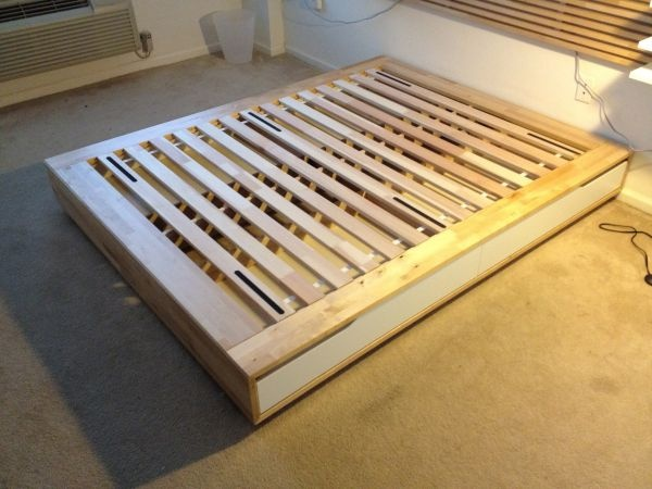 Ikea Mandal Queen Bed Frame Great Condition For The Home