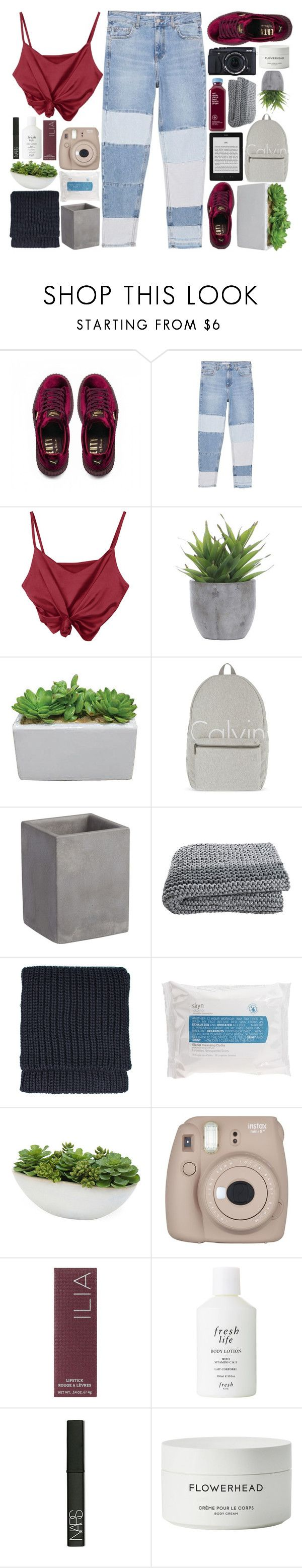 """""""LIKE TO JOIN MY TAGLIST"""" by jess-innes ❤ liked on Polyvore featuring Puma, MANGO, Lux-Art Silks, Calvin Klein, CB2, Fujifilm, Topshop, Skyn Iceland, Distinctive Designs and Ilia"""