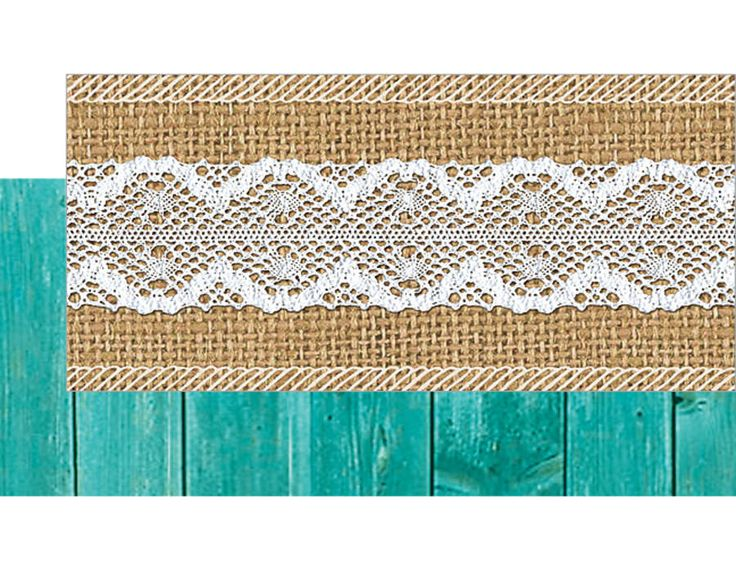 Shabby Chic Double-Sided Border Image