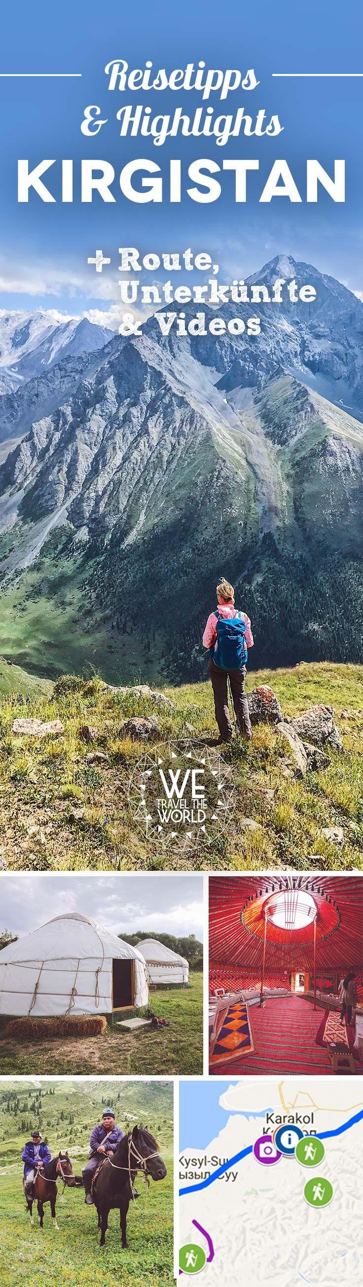 Du planst eine Kirgistan Reise? Dann haben wir hier alles Wissenswerte zu Aktivitäten, Sehenswürdigkeiten und nützlichen Tipps!