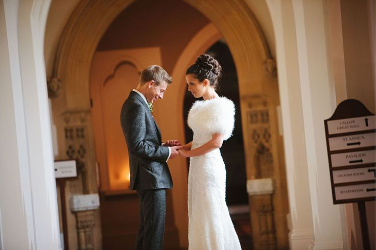 Rachel + Andy's Wedding / Stanbrook Abbey, Worcestershire