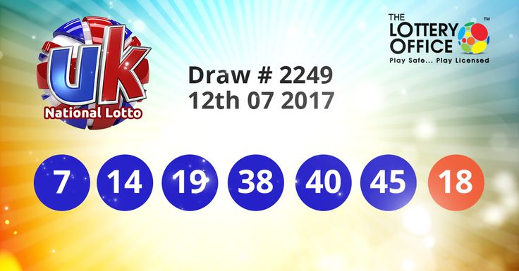 UK National Lotto winning numbers results are here. Next Jackpot: £8.2 million #lotto #lottery #loteria #LotteryResults #LotteryOffice