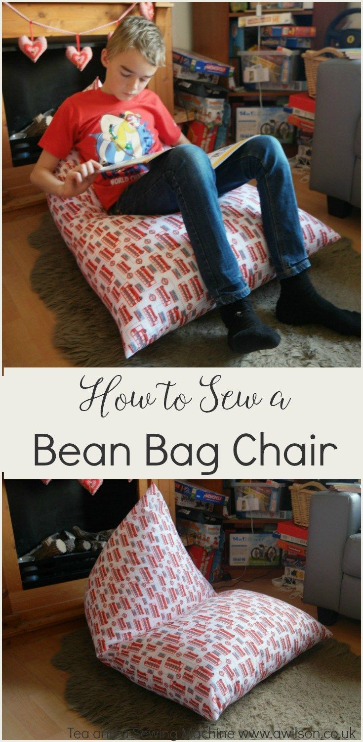 How to sew a bean bag chair sewing for kids pinterest bean bag