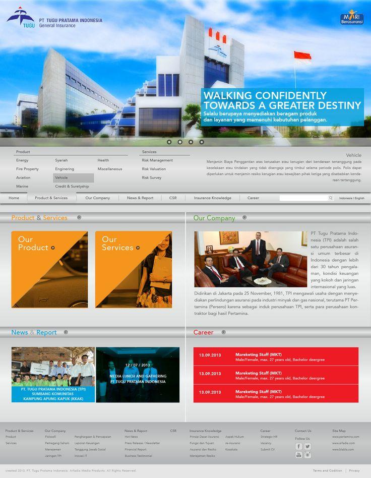 Website Corporate - PT. Tugu Pratama Indonesia ver 2 - http://www.tugu.com