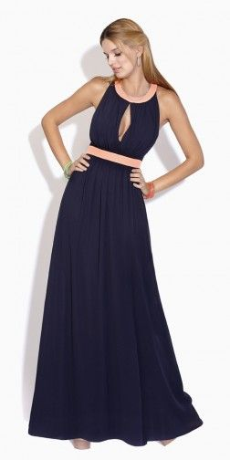 spring, wardrobe, outfit, ideas, summer, 2014, what to wear, outfit, comfortable, sundress, dress, sun dress, navy blue, peach, pink, sleeveless