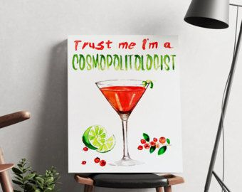 Cocktail puns | Etsy