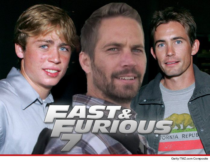 Paul Walker -- Brothers Will Mimick Paul's Voice For 'Fast and Furious 7'   TMZ.com