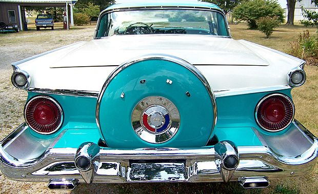 1959 Ford Galaxie Skyliner Retractable 352 V8 In Geranium Ford