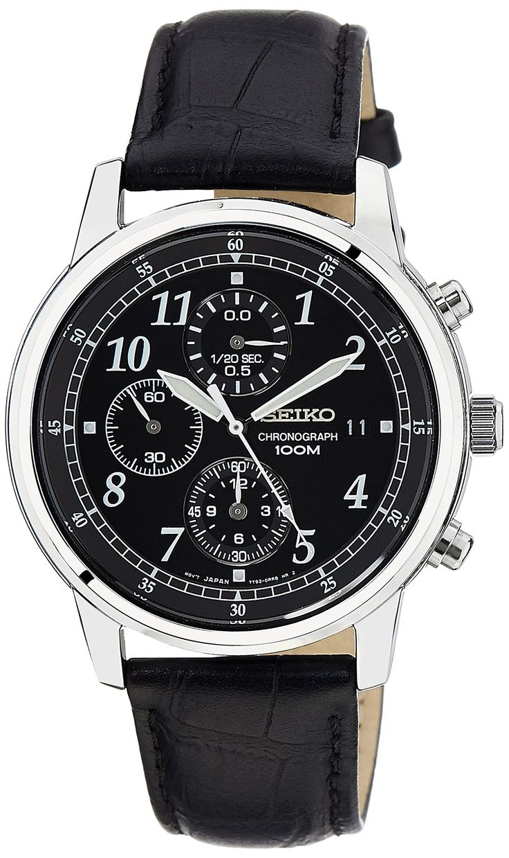 32 Best Stuff Images On Pinterest Bag Men Bags And Watches Seiko Prospex Ssc347p1 Sky Solar Chronograph Blue Dial Stainless Amazoncom Mens Sndc33 Classic Black Leather Watch