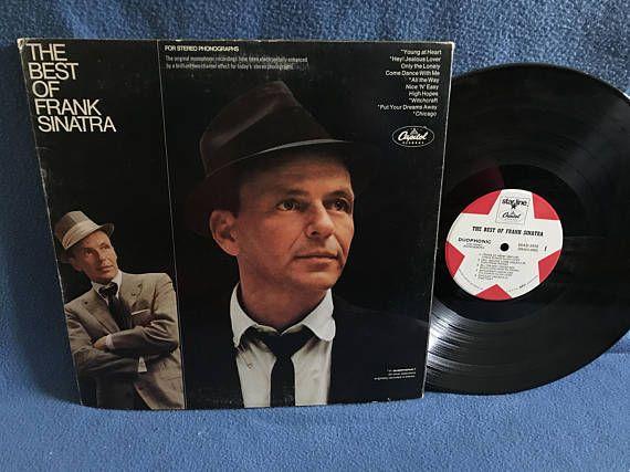 Vintage Frank Sinatra  The Best Of Vinyl LP
