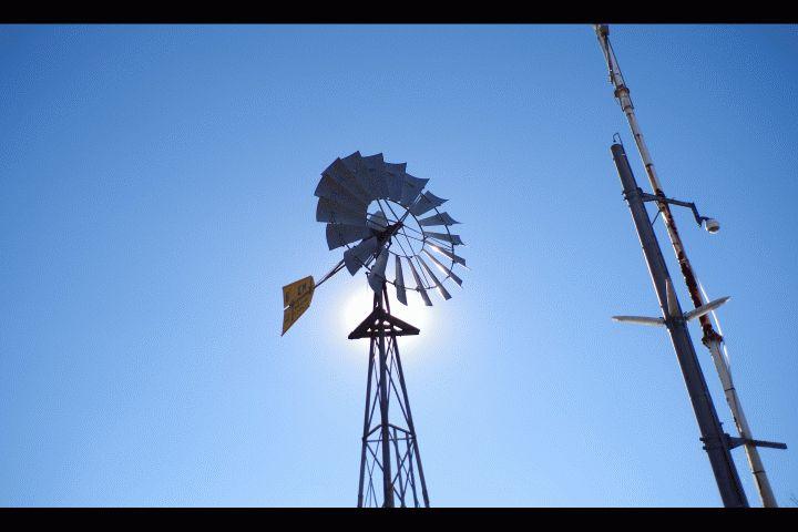 風車(足利工業大学、風と光の広場)