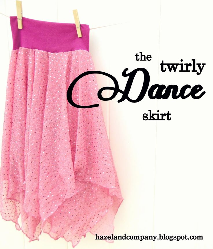 hazel and company: twirly dance skirt tutorial Chy would love this