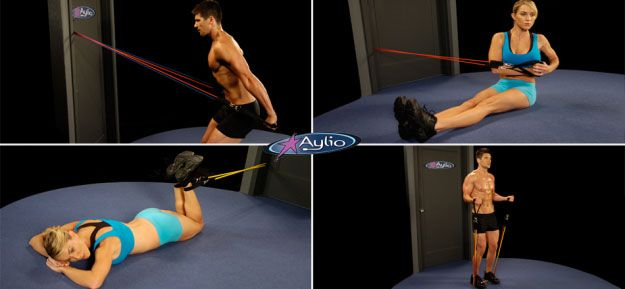 Aylio Resistance Bands.  These work great.