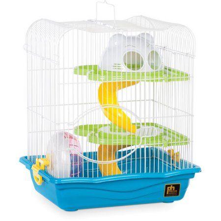 Pets Hamster habitat, Small hamster, Small animal cage