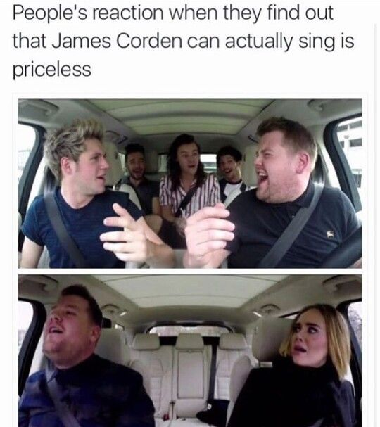 james corden slays at everything he does.