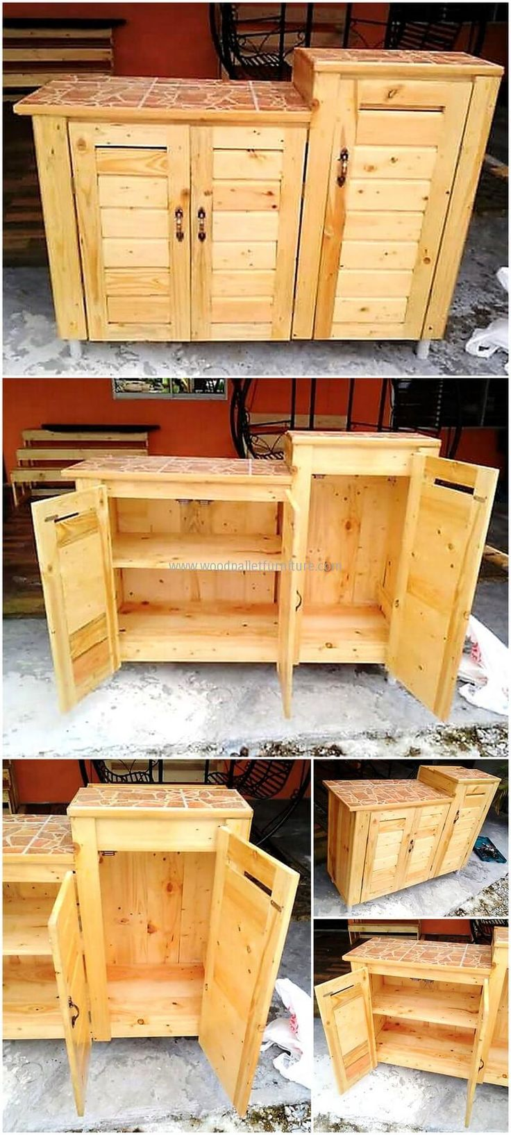 Some Different Ideas with Used Pallets
