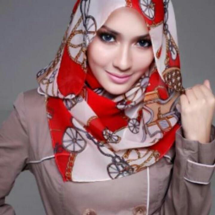 Cool design ❤ hijab style
