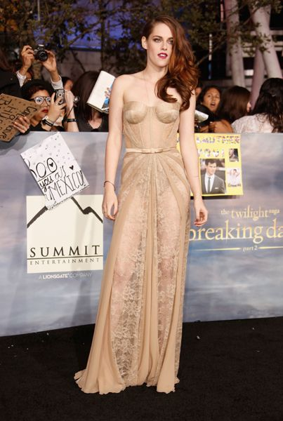 kristen stewarts style Kristen Stewart In Zuhair Murad – 'The Twilight Saga: Breaking Dawn – Part 2′ LA Premiere