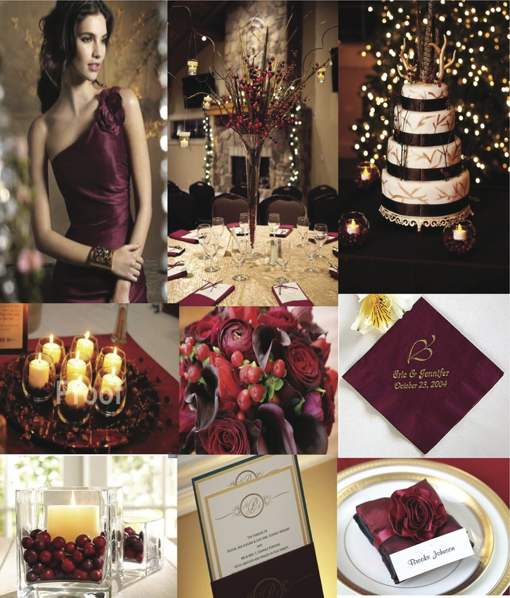 Burgundy And Gold Wedding Decorations: 120 Best Burgundy And Gold Wedding Images On Pinterest