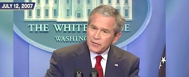George W. Bush predicted EXACTLY what is happening in Iraq today - 'Mass killings, terrorist safe haven...'