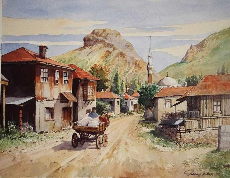 Hasan KIRDI - Sanatçı Detayı - Turkish Paintings