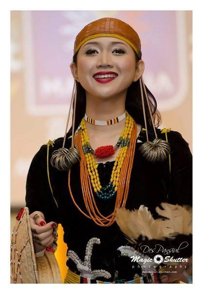 Elongated ears Dayak Kelabit@Borneo Hornbill Festival 6.0