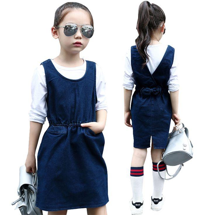 Ucuz Çocuk Yelekler Kız Giyim Kolsuz Denim Elbise Için Elbiseler Çocuk Giysileri 2017 Ilkbahar Yaz Kız Elbise 4 6 8 10 12 Yıl, Satın Kalite elbiseler doğrudan Çin Tedarikçilerden: Çocuk Yelekler Kız Giyim Kolsuz Denim Elbise Için Elbiseler Çocuk Giysileri 2017 Ilkbahar Yaz Kız Elbise 4 6 8 10 12 Yıl