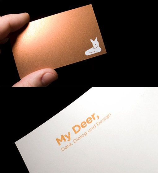 79 best business cards images on pinterest business cards my deer by hannes drensler corporate designbusiness cardsdeerlipsense reheart Images