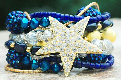 Custom Dallas Cowboys Charm Bracelet