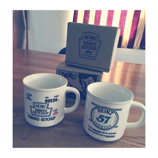 Mckee_8さんの、食器,HEINZ,マグ,マグカップ,アメリカン,USA,キッチン,のお部屋写真