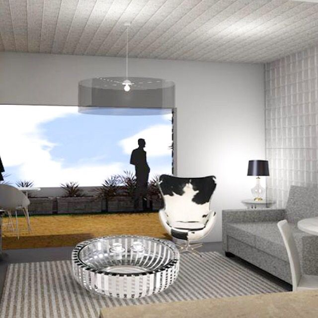 Living room Archicad render
