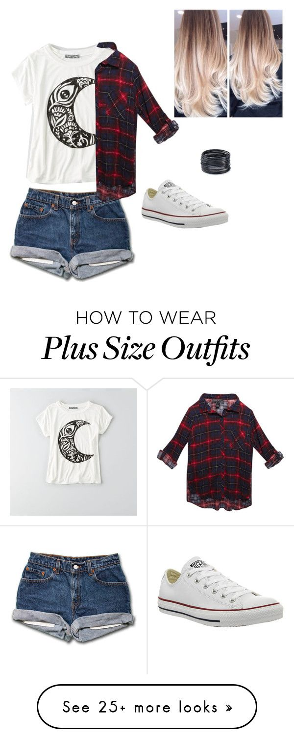 """skul"" by tessa-smithyyyy on Polyvore featuring American Eagle Outfitters, Wet Seal, Converse and ABS by Allen Schwartz"