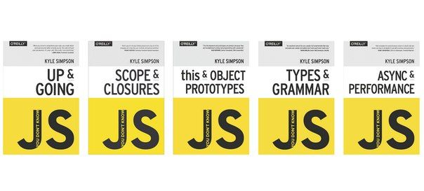 «You Don't Know JS» — это серия небольших книг от издательства O'Reilly для глубокого понимания языка программирования JavaScript. На данный момент доступно 6 книг для чтения онлайн, также как и в pdf формате.<br><br>● Up & Going<br>● Scope & Closures<br>● this & Object Prototypes<br>● Types & Gr..