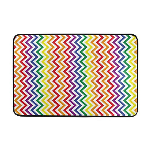 JSTEL Nonslip Door Mat Home Decor, Rainbow Zig Zag Chevro... https://www.amazon.com.au/dp/B079DB7VHL/ref=cm_sw_r_pi_dp_U_x_SAbEAbCVJVR7Q